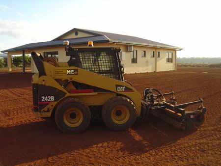 How ... - Landscaping Yard Equipment Rental Harley Rake News Time