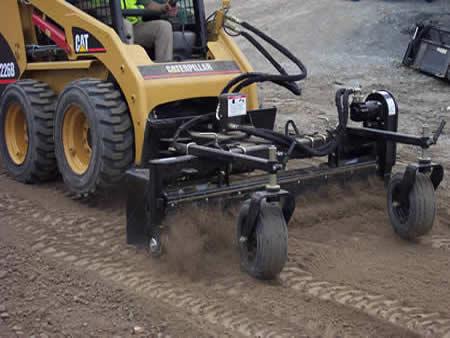 landscaping yard equipment rental harley rake news time